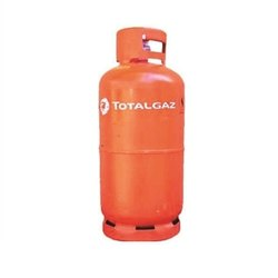 Mild Steel Orange Total Gas LPG Cylinder, Capacity :33 Kg