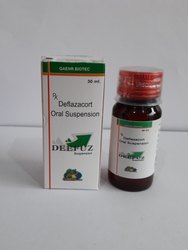 Deflazacort 6mg/5ml Suspension)