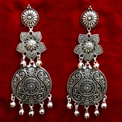 Oxidized Earrings For Women