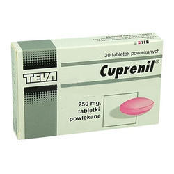 Cuprenil 250mg 100s Tablets