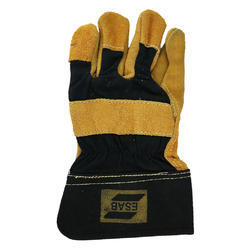 Leather Safety Gloves