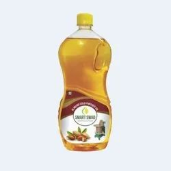 Smart Swad Liquid Almond Cold Pressed Oil, Packaging Type: Plastic Bottle