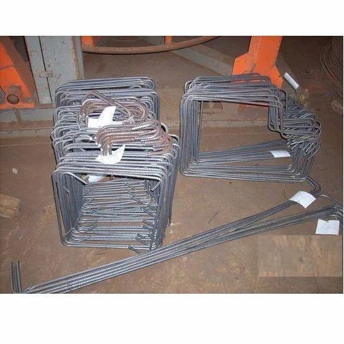 Reinforcement TMT Bar With Readymade Cut & Bend, Length: 12