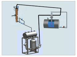 Steam condensate recovery system