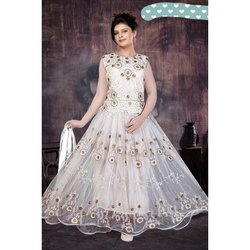 Cotton Party Wear Designer Lucknow Chikan Suits