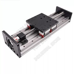 Slide Table 200MM-1200MM Stroke. Heavy Load LM Rail HGR20 4 Pcs LM Block with Ballscrew CNC