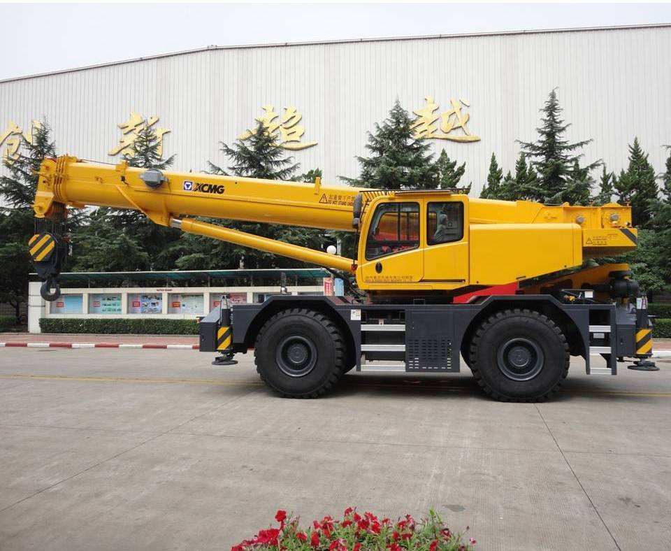 XCMG RT55U 50 ton Rough-Terrain Crane