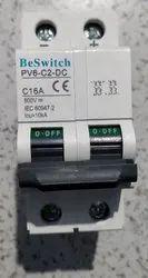 DC MCB 500V 16A 2P