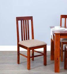 Dining Chair In Honey Oak Finish