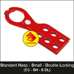 Small Lockout Tagout Standard Hasp - Double Locking