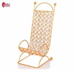 Obbi Plain Copper Mobile Stand