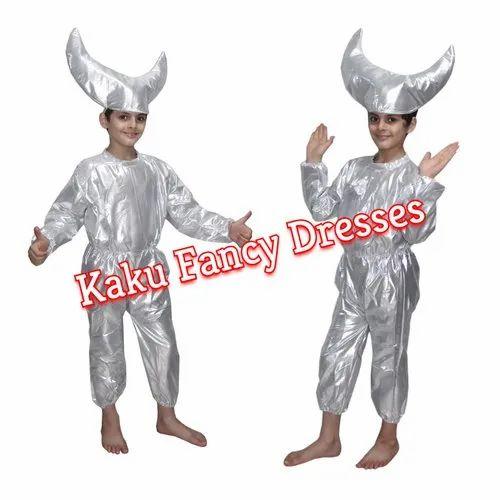 85348dd1b4227 Silver Kaku Fancy Dresses Kids Moon Fancy Dress, Rs 300 /piece | ID ...