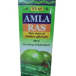 3 Years Vyas Amla Ras, Packaging Size: 500 Ml, Liquid