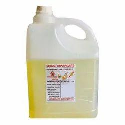 Sodium Hypochlorite 5 Liter Pack