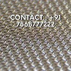 0.19 - 1.3 mm Woven Spring Steel Wire Mesh
