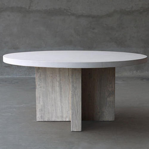 Gentil Round Concrete Table