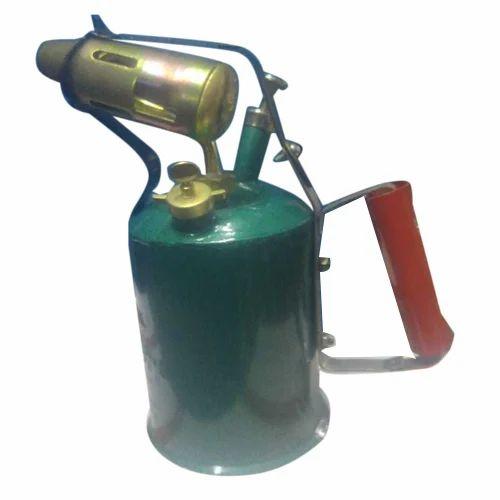 Green Kerosene Iron Blow Lamp Pint-2