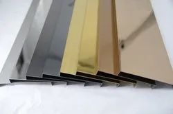 SS 304 Decorative Coated Profiles