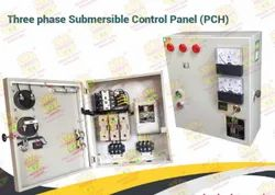 Three Phase Submersible Pump Control Panel, Packaging Type: Box, Dewatering