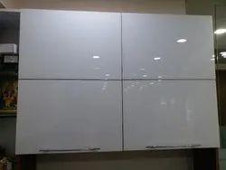 Hinged Modern Kitchen Glass Shutter