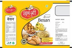 500 Gram Besan Printed Pouch