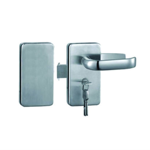 Stainless Steel Glass Door Lock Raj Enterprise Id 19099433591