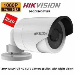 2 MP Day & Night Hikvision HD Bullet Camera, For Security