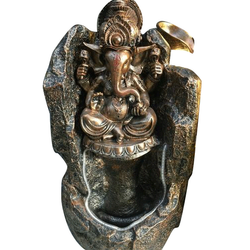 Brass Lord Ganesha Fountain Statue, Box