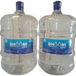 Bhoomi Transparent 20 L Mineral Water Jar