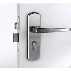 Stainless Steel Door Lock, Polished