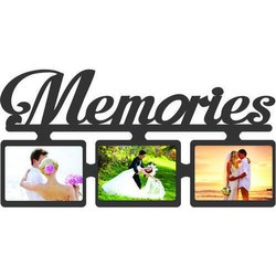 Memories Photo Frame, For Gift, Size: 15 X 9 Cm
