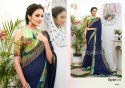 Chiffon Saree with Zaalar Pallu & Digital Border