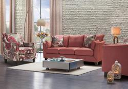 Wood & Fabric 5 Seater Sofa Sets