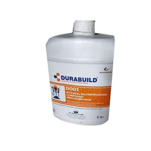 Liquid Durabuild Integral Waterproofing Compound, Packaging Size: 5 Liter, Packaging Type: Plastic Can