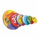 Printed Fridge Button Magnet Badges
