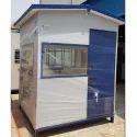 Cement Fiber Sheet  Security Cabin 6x6x7