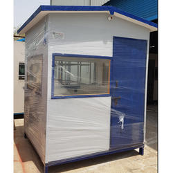 Cement Fiber Sheet  Security Cabin 6x6x7
