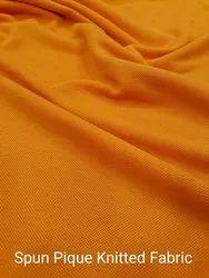 Spun Pique Knitted Fabrics