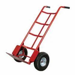 Nylon Mild Steel Hand Trolley, Capacity: 100 kg