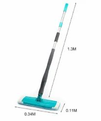 360 Degree Spin Twist Rotating Mop Self-Wringing for Floor Cleaning, Size: 130x34x11cm