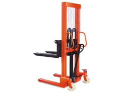 Ajustable Manual Stacker