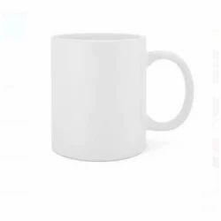 White Ceramic Sublimation Coffee Mug, Usage: Home & Office