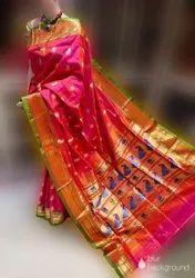 Ladies Paithani Silk Saree