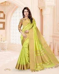 Linen Wear Causal Saree