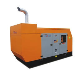 Three Phase Mahindra Diesel Generator Set, Voltage: 240 V