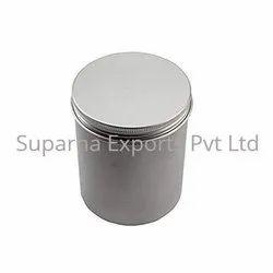 Round Aluminum Tin Container