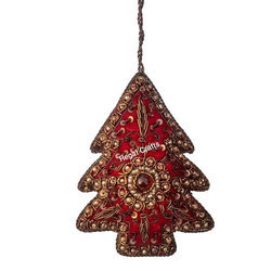 Hand Embroidery X-Mas Ornament