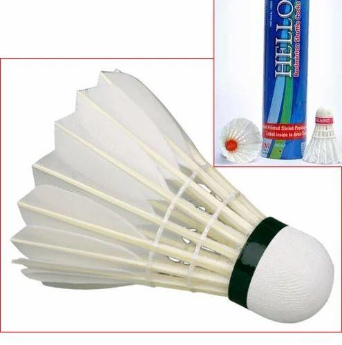 3 X Badminton Sports Nylon Shuttle Cocks Shuttlecocks In A Tube Pack Set
