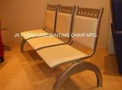Three Seater SS Waiting Chair