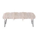Designer Upholstered Wooden Bench